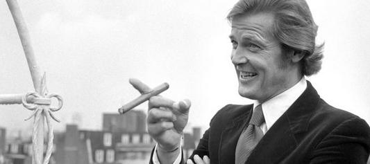 Roger Moore cigar