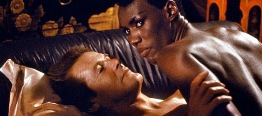 James Bond Limericks - Roger Moore and Grace Jones in AVTAK