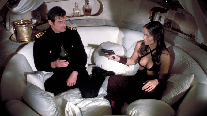 The Spy Who Loved Me - Roger Moore and Barbara Bach