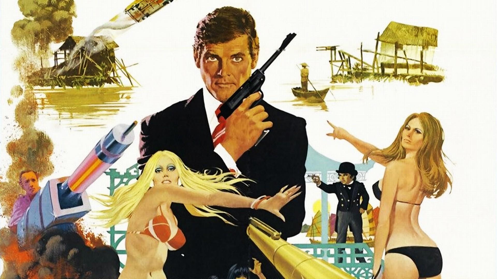 Man with the Golden Gun Artwork