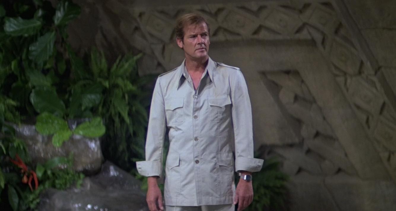 Roger Moore - Moonraker safari suit