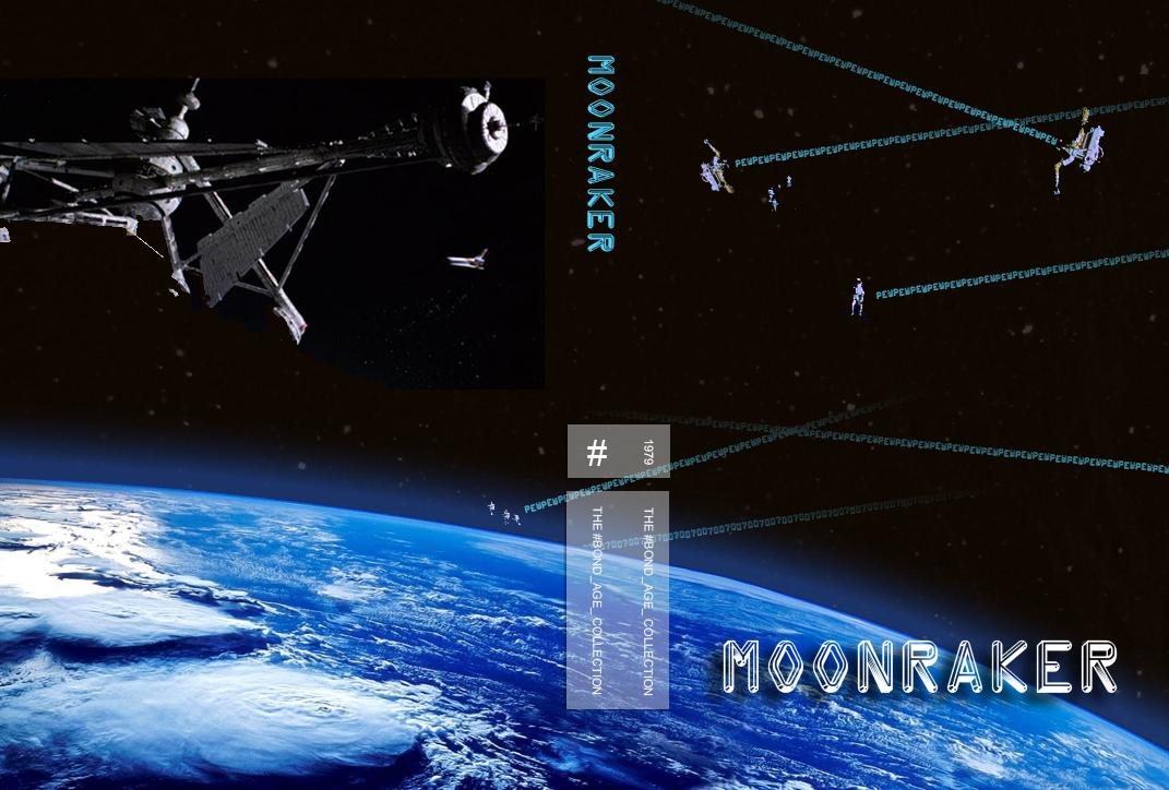Moonraker Custom DVD Cover