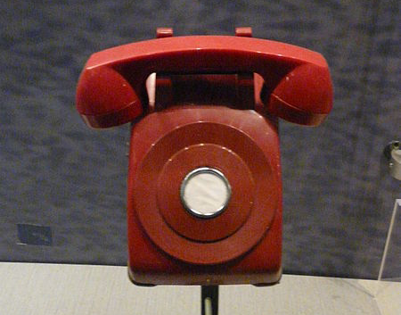 the Cold War telephone