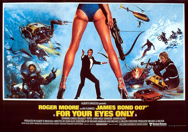 For Your Eyes Only poster