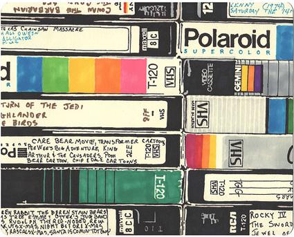 VHS dubs - Jake Fogelnest