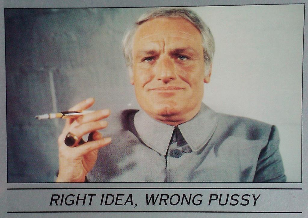 Blofeld - Right Idea, Wrong Pussy