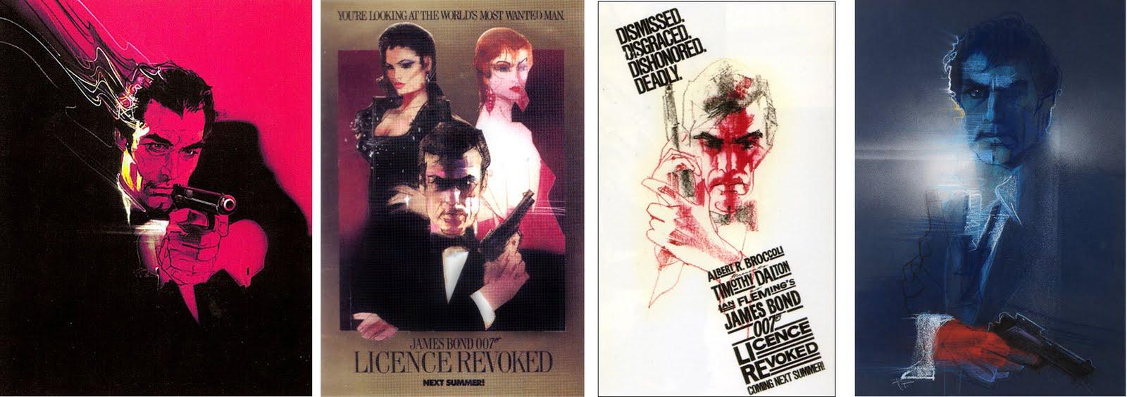 Licence to Kill artwork