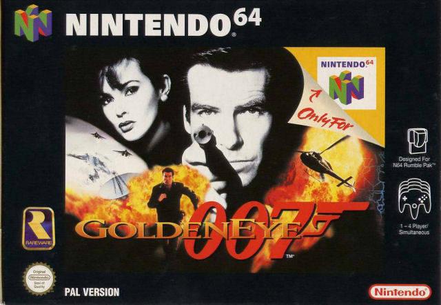 GoldenEye 007 N64 EU