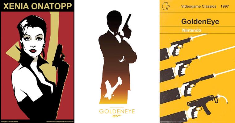 GoldenEye artwork