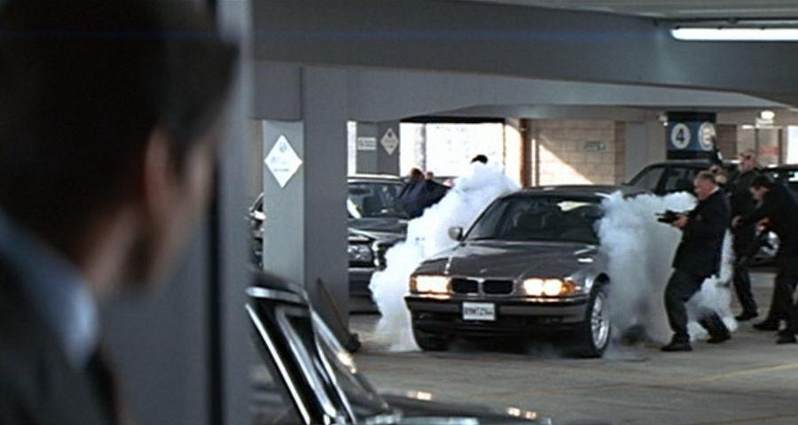 BMW - parking garage - Tomorrow Never Dies