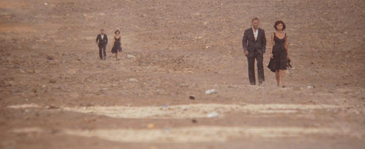 Quantum of Solace - Atacama desert
