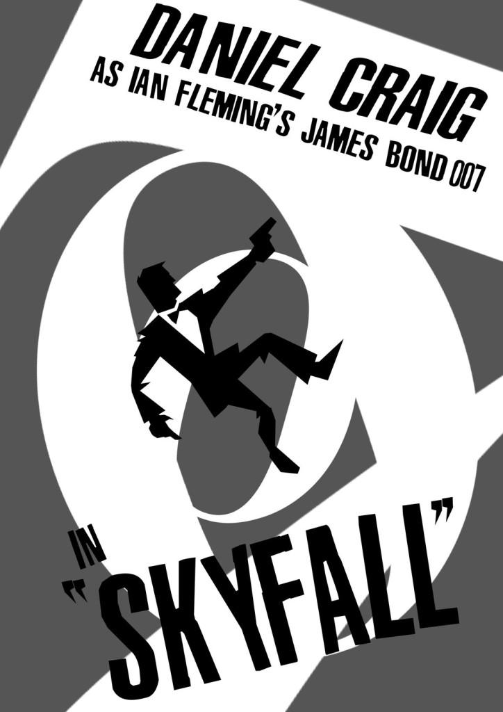 Skyfall retro artwork
