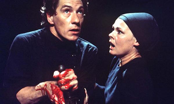 Ian McKellen and Judi Dench in Macbeth