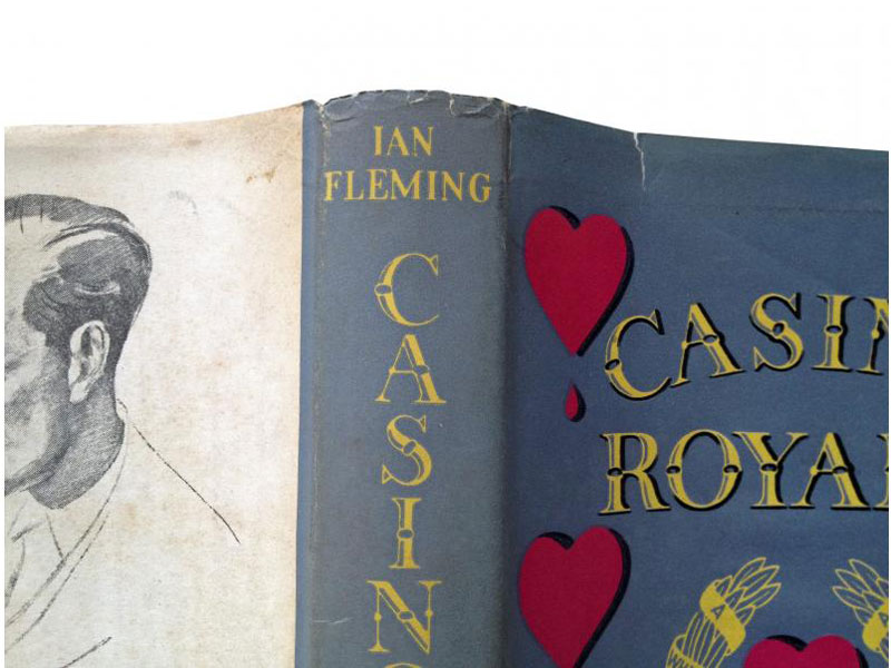 Casino Royale, First Edition by Ian Fleming