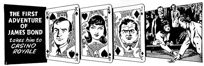 The Casino Royale comic strip