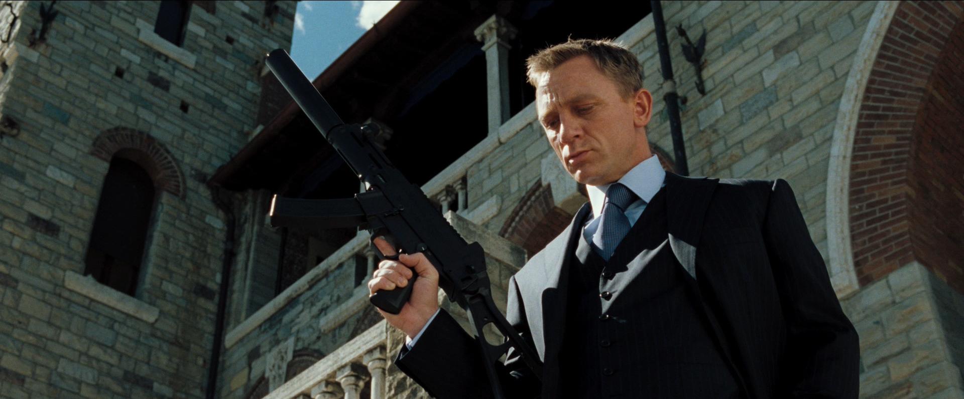 The final scene in Casino Royale
