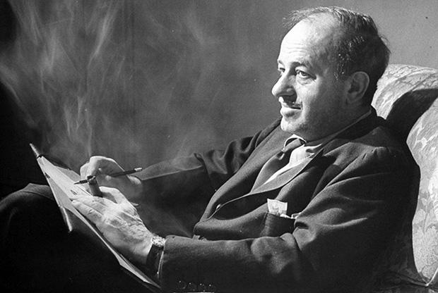 The legendary Hollywood scribe, Ben Hecht