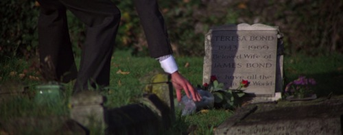 tracy bond's grave for your eyes only