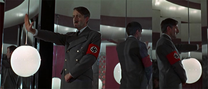 Peter Sellers as Hitler in Casino Royale 1967