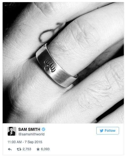 Sam Smith teases SPECTRE song