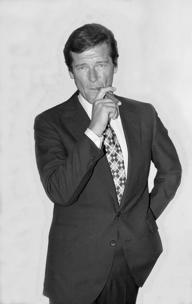 Roger Moore Bond 25