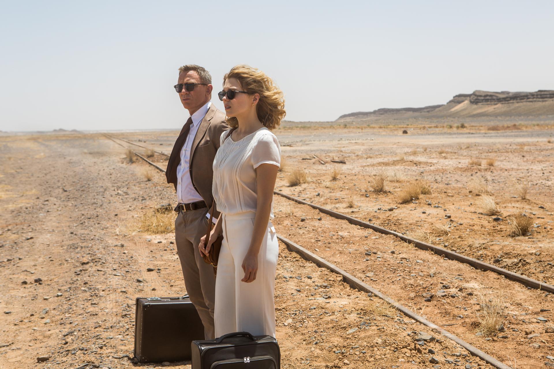 Daniel Craig and Lea Seydoux Spectre