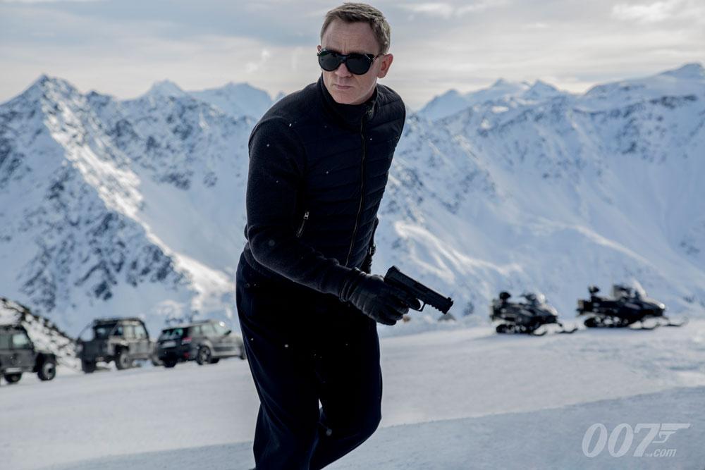 Daniel Craig Spectre snow