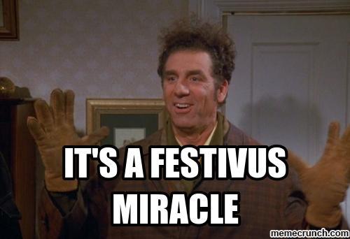 a festivus miracle kramer