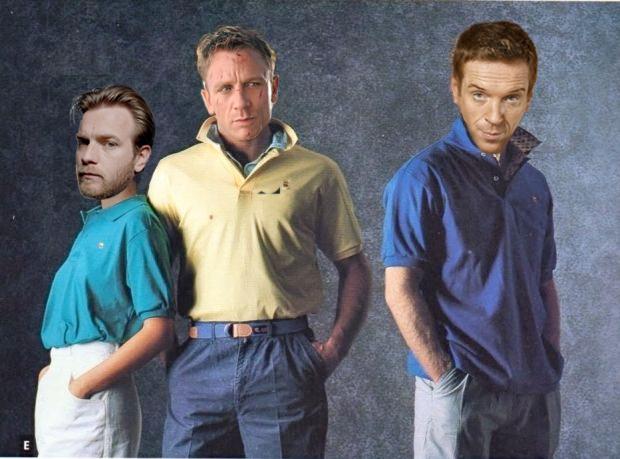 Daniel Craig, Damian Lewis, Ewan McGregor
