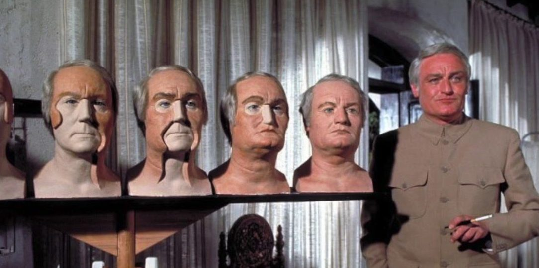Charles Gray models himself in Diamonds Are Forever.