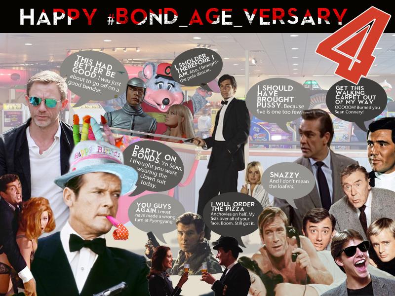 #Bond_age_ 4th anniversary