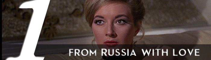 from russia with love james bond movie rankings