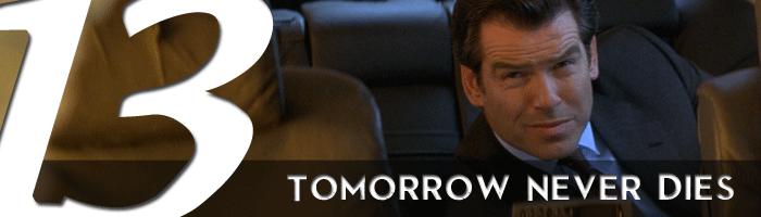 tomorrow never dies james bond movie rankings