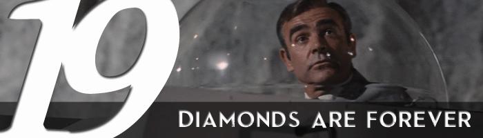 diamonds are forever james bond movie rankings