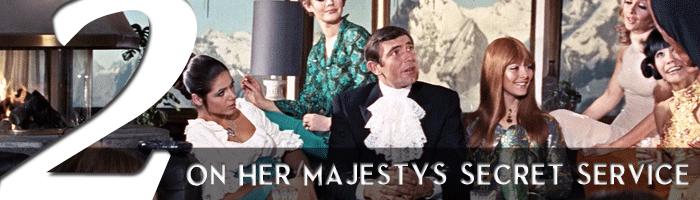 on her majesty's secret service james bond movie rankings