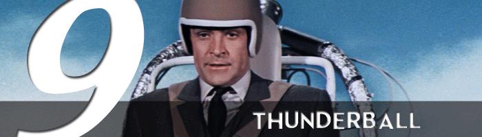 thunderball james bond movie rankings