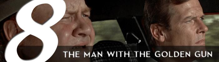the man with the golden gun james bond movie rankings