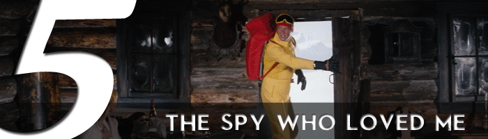 the spy who loved me james bond movie rankings
