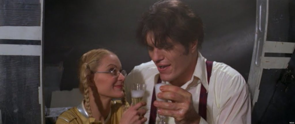 Jaws and his new love in Moonraker