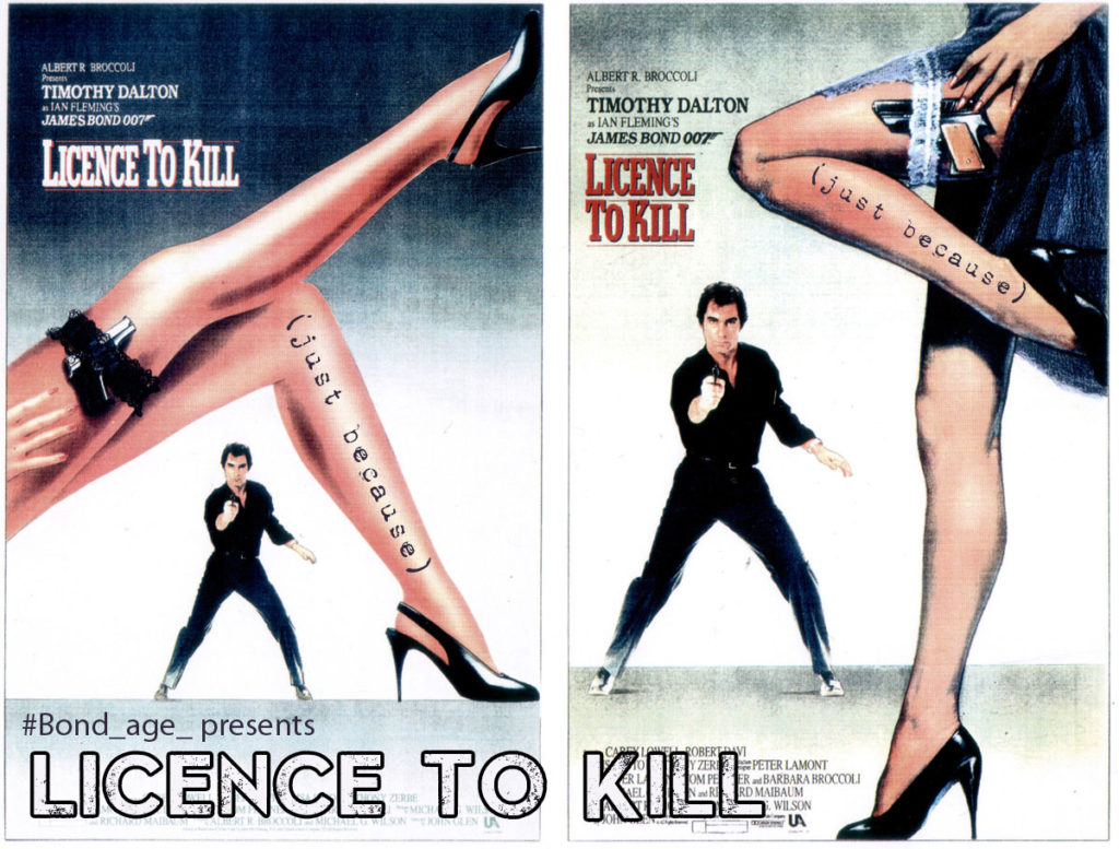 licence to kill just because