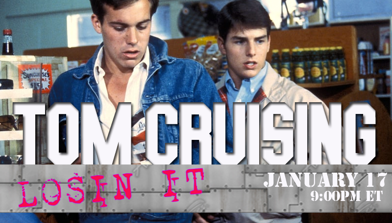 Tom Cruising Vol. 7 – Losin' It Live Tweet