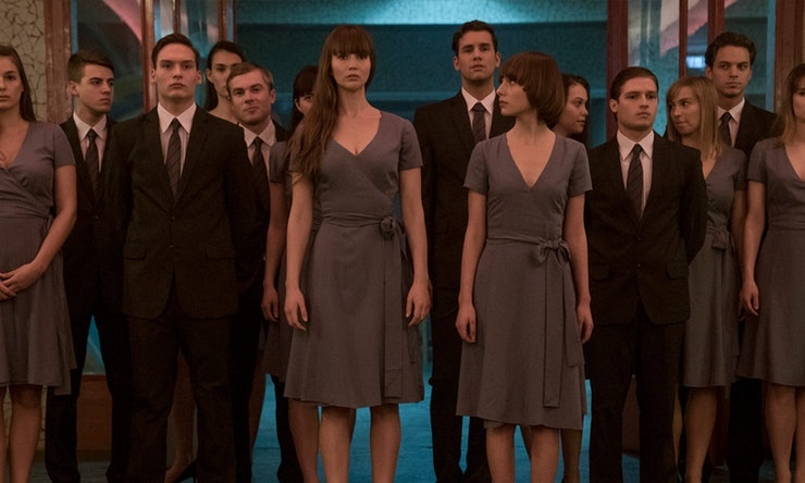 Red Sparrow indoctrination