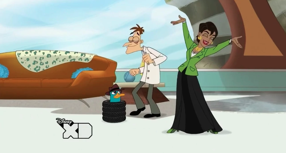 shirley bassey phineas and ferb