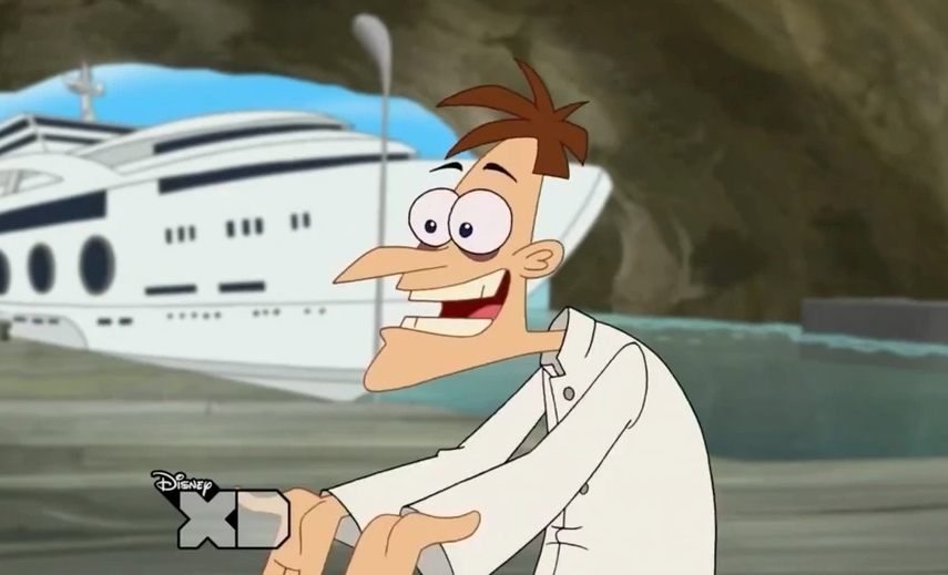 dr. no phineas and ferb