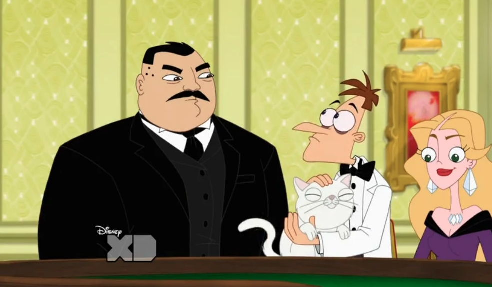 James Bond in Phineas and Ferb: Part I