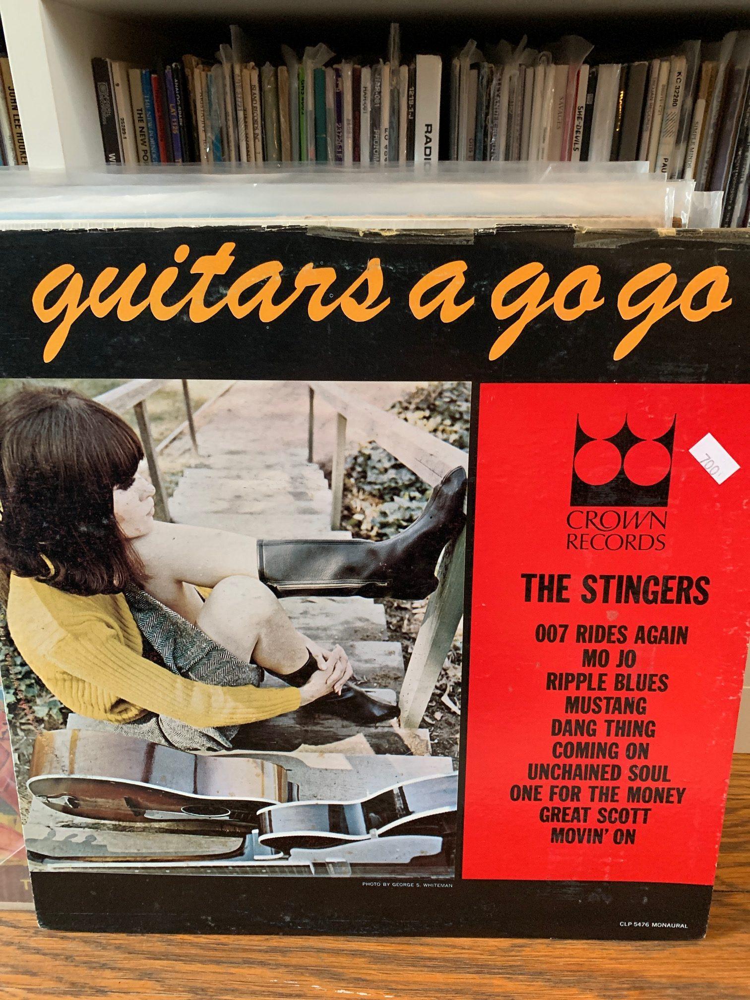 The Stingers - Guitars a Go Go