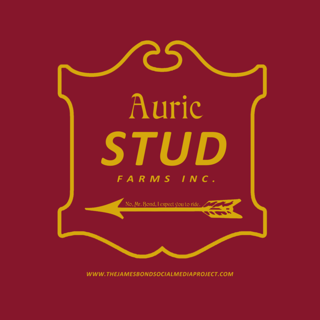 Goldfinger Auric Stud t-shirt design